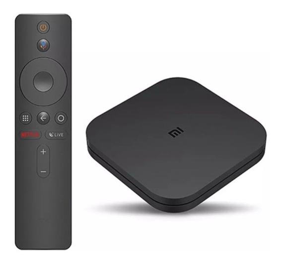 Xiaomi Mi Box S Glob Tv 4k Ultra Hd - 12 X Sem Juros