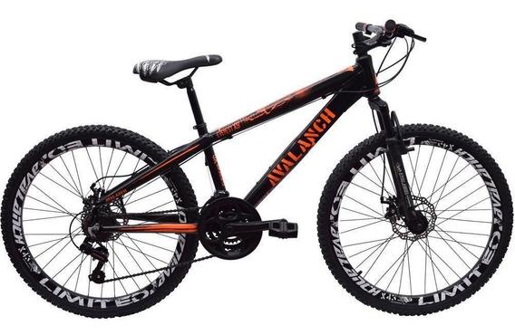 Bicicleta 26 Everest X-9 21 Marchas Preto/laranjaavalanch