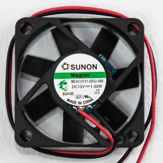 Cooler Fan Magnetica Sunon 45x45x10mm 6500rpm 12v Silen Htec