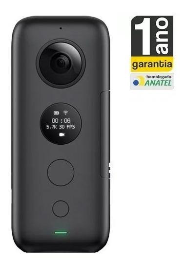Insta360 One X 5.7k Câmera 360° Anatel Garantia Desc A Vista