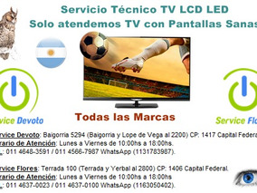 Servicio Técnico Tv Led Samsung Sony Lg Noblex Philco Tcl