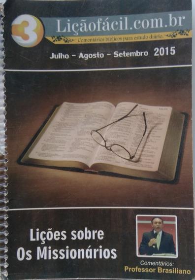 Liçoes Sobre Os Missionários.