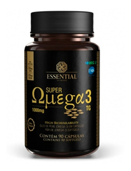 Super Ômega 3 Tg 1000mg 90 Cápsulas - Essential Nutrition