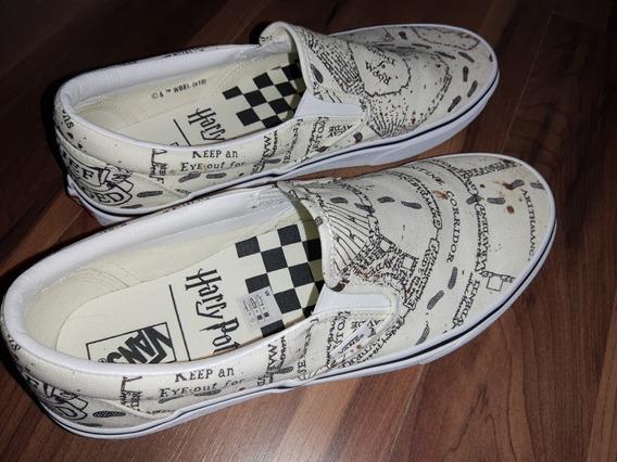 Tênis Vans Classic Slip-on - Harry Potter Marauders Map - 41