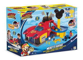 Disney Mickey Clubhouse Garage De Carreras Int 182493 Taller