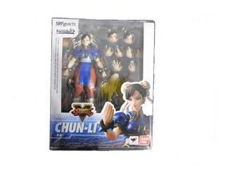 Chun-li Street Fighter S.h. Figuarts Bandai