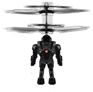 Panoware Mini Juguete Helicóptero Volador + Diseño La Briga