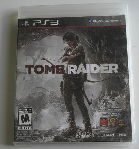 Tomb Raider 2013 Ps3 Usado Testado Ok