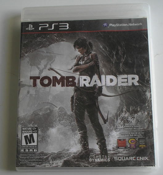 Tomb Raider 2013 Ps3 Usado Testado Ok
