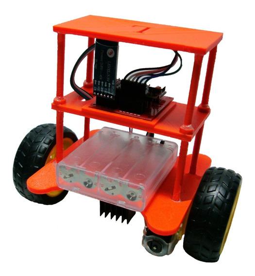 Robot Balancín (equilibrista). Arduino P I D. Bluetooth