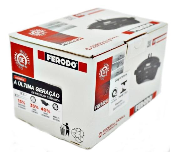 Jogo Pastilha Freio Dianteira Cerâmica Fiat Linea 1.8 E 1.9
