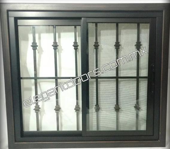 Ventana Aluminio Protector Metal