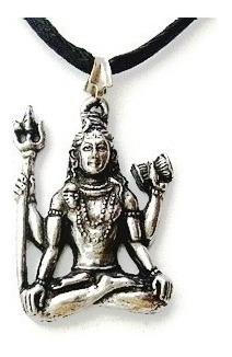 Colar Shiva Em Lotus Deuses Hindu - Shiva  Colar Pingente