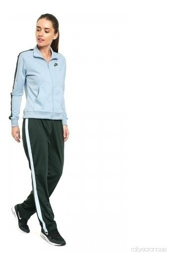 Pants Completo Nike Mujer Azul W Nsw Trk Suit Pk 830345401