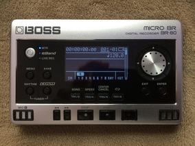 Gravador Micro Boss Br-80+case+fonte Psa 120s - Perfeito!!!