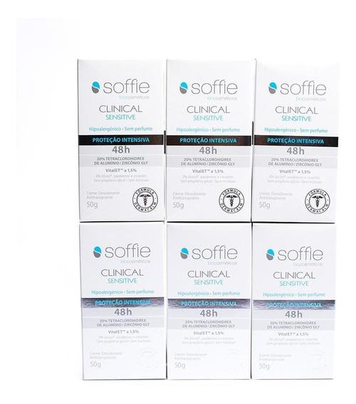 Kit Completo Desodorante Soffie Clinical Sensitive