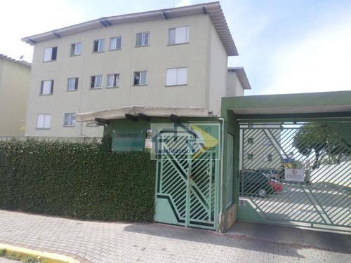 Apartamento Com 2 Dormitórios À Venda, 50 M² Por R$ 220.000,00 - Vila Figueira - Suzano/sp - Ap0214