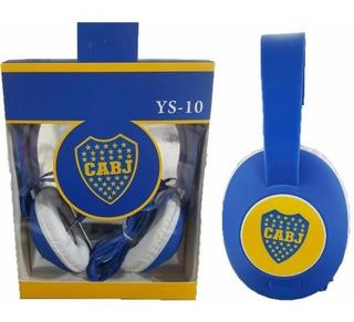 Auricular Vincha Mp3, Mp4, Celular O Tablet De Boca Juniors