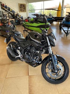 Yamaha Mt 03 321cc Abs 2019 Semi Nova Preta Posto 6