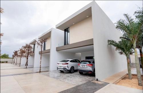 Imagen 1 de 25 de Venta De Town House De Lujo Kanan Luxury Homes En Temozón Nt