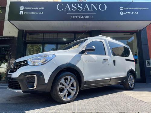 Renault Kangoo 1.6 Sce Stepway 2019 Blanca Cassano Automobil