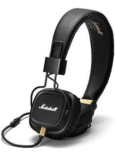 Auricular Marshall Major Ii Black +mic Manos Libres Cuotas