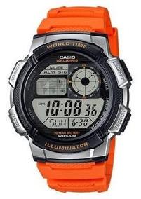 Relógio Casio Original Provra Água Cronômetro Ae-1000w-4bvdf