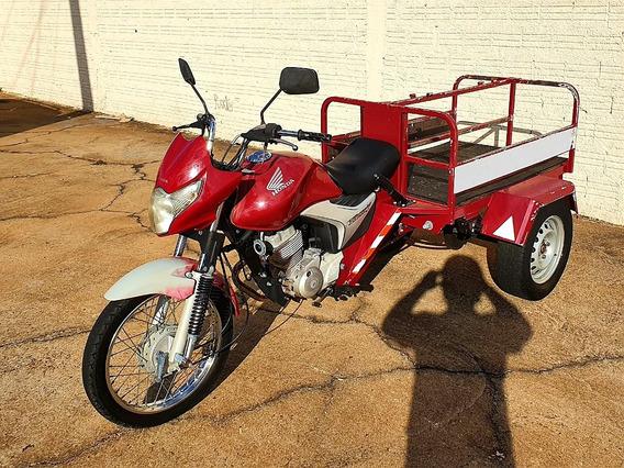 Triciclo Honda Cg 150 Carga Gás E Água Glp
