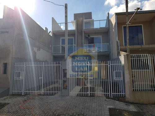 Imagem 1 de 15 de Sobrado Com 2 Dormitórios À Venda, 85 M² Por R$ 289.000,00 - Umbará - Curitiba/pr - So0412