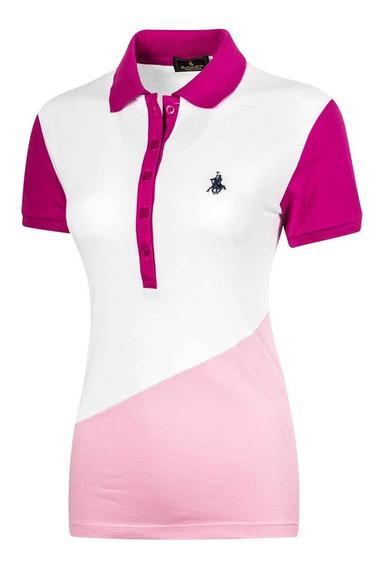 Polo Club Polo De Mujer 92289-1 Color Blanco