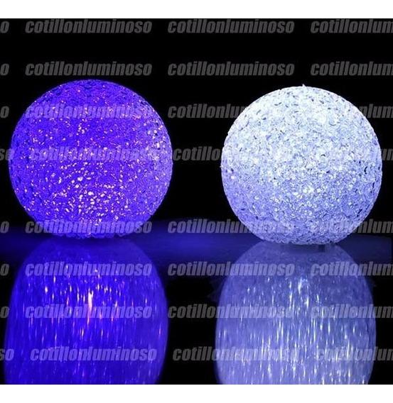 50 Esferas Vela Led Chica Ideal Centro De Mesa Cotillon