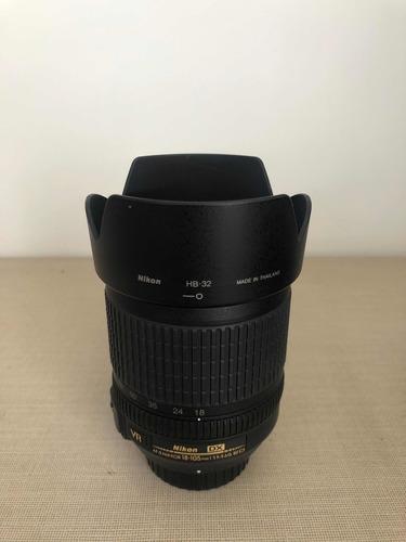 Lente Nikon 18-105mm