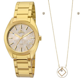 Relógio Allora Feminino Al2035fhn/k4k