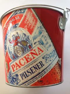 Cubeta Premiun Con Destapador Paceña Cervecera