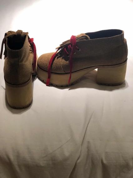 Zapatos Beige Con Plataforma De Sofia De Grecia