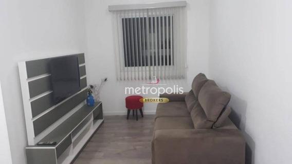 Apartamento Com 1 Dormitório À Venda, 68 M² Por R$ 300.000,00 - Boa Vista - São Caetano Do Sul/sp - Ap2757