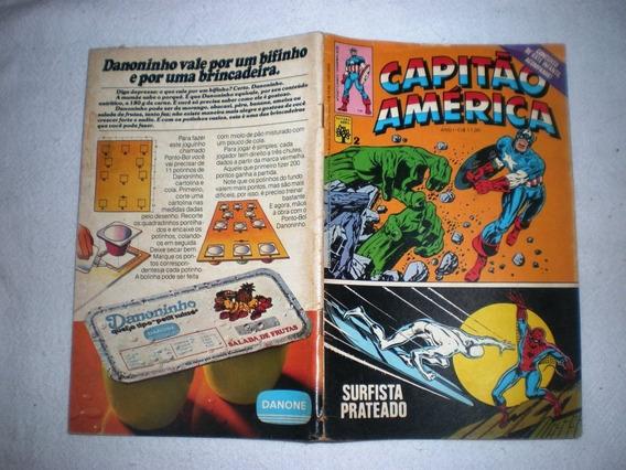 Capitão América 2 - Abril - Frete Grátis
