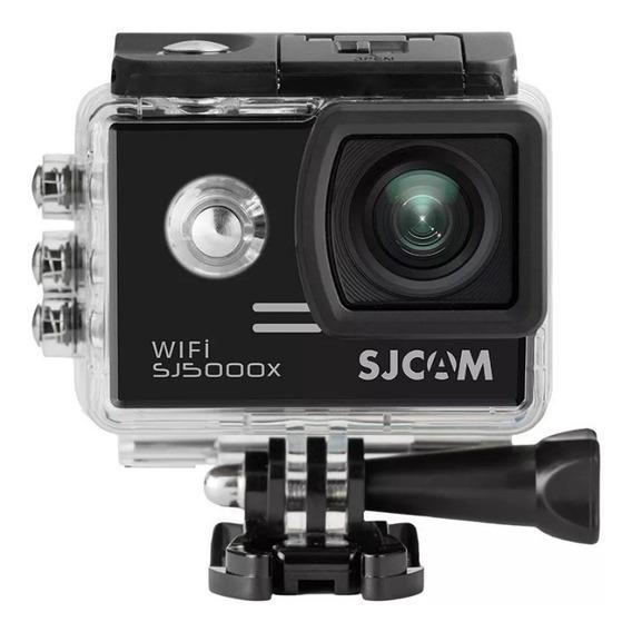Câmera Sj5000x 4k Elite+microfone Capacete+ Sd 64 Gbpatomot
