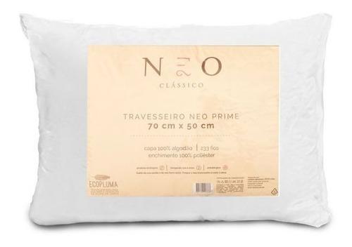 Travesseiro Neo Prime 233 Fios Camesa