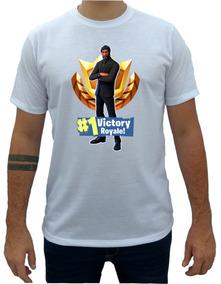 Fortnite Jhon Wick Camiseta Camisa Masculina Feminina-797