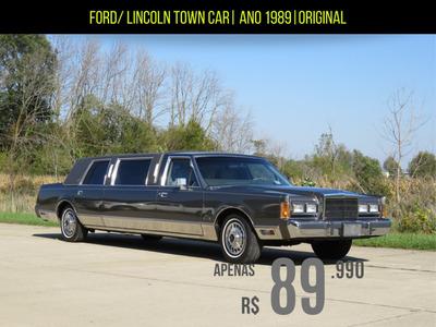 Ford / Lincoln Limosine Automática Ano 1989