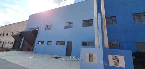 Imagem 1 de 10 de Galpão Área Industrial Para Locação Em Atibaia - Ga0037-2