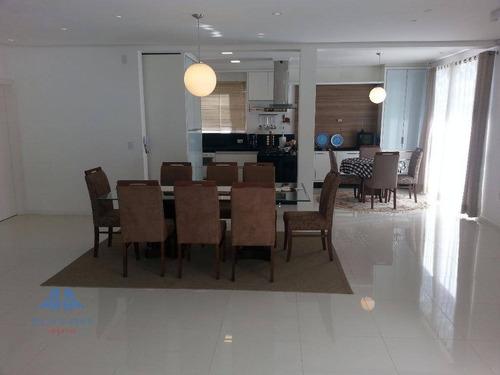 Casa Com 4 Dormitórios À Venda, 301 M² Por R$ 1.390.000,00 - Córrego Grande - Florianópolis/sc - Ca0223