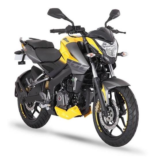 Moto Bajaj Rouser 200 Ns Fi 0km 2020 Roja