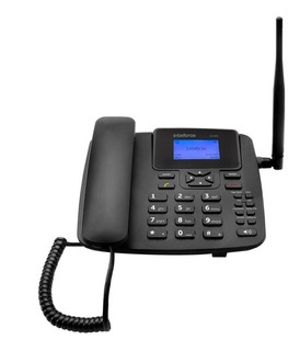 Telefone Celular Rural Mesa Intelbras C/ Radio Fm E Internet