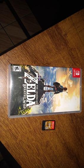 The Legend Of Zelda: Breath Of The Wild Mídia Física Switch