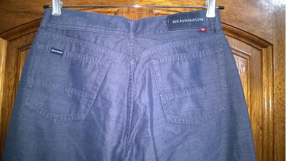 Pantalón Jeans Bensimon Talle 29-cintura Mide 40cm.-#1