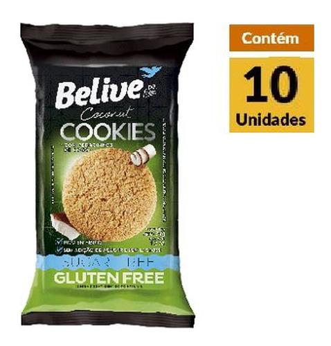 Imagem 1 de 1 de Cookies Belive Coco Zero Display 10x34g