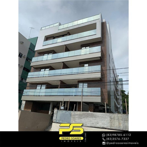 Apartamento Com 2 Dormitórios À Venda, 59 M² Por R$ 429.000 - Cabo Branco - João Pessoa/pb - Ap4397
