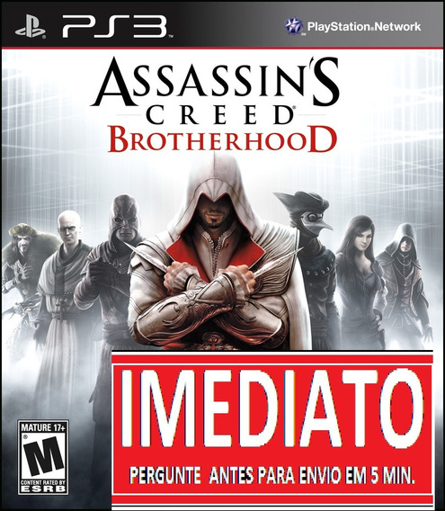 Assassins Creed Brotherhood Ps3 Psn - Midia Digital